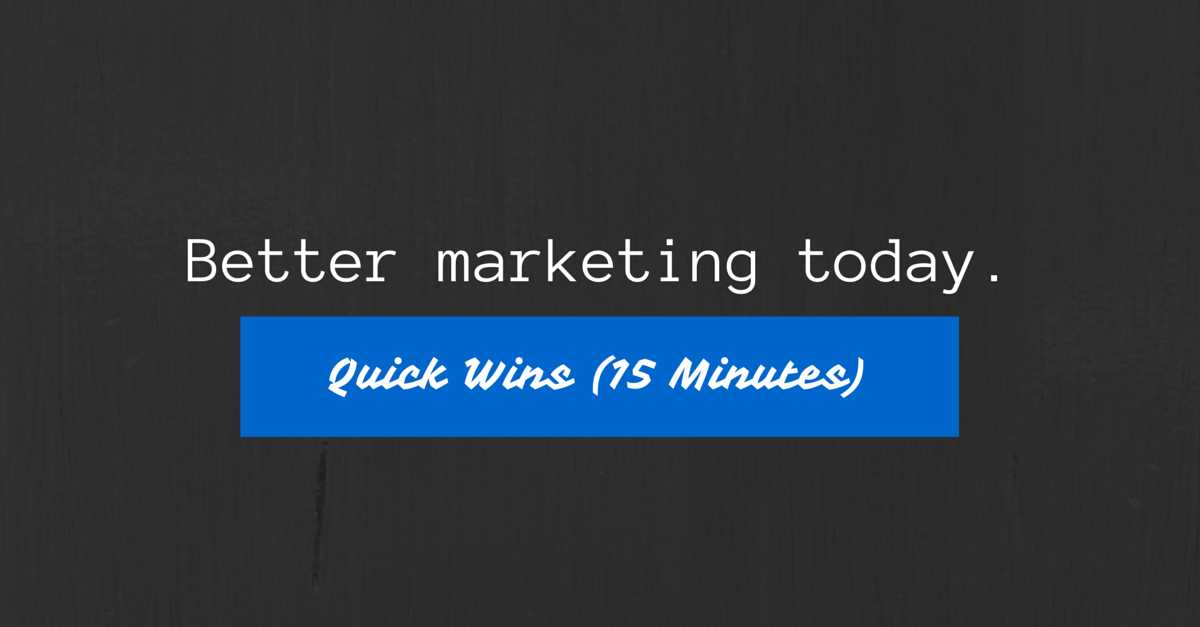digital-marketing-quick-wins