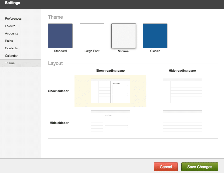 fastmail-layout-options