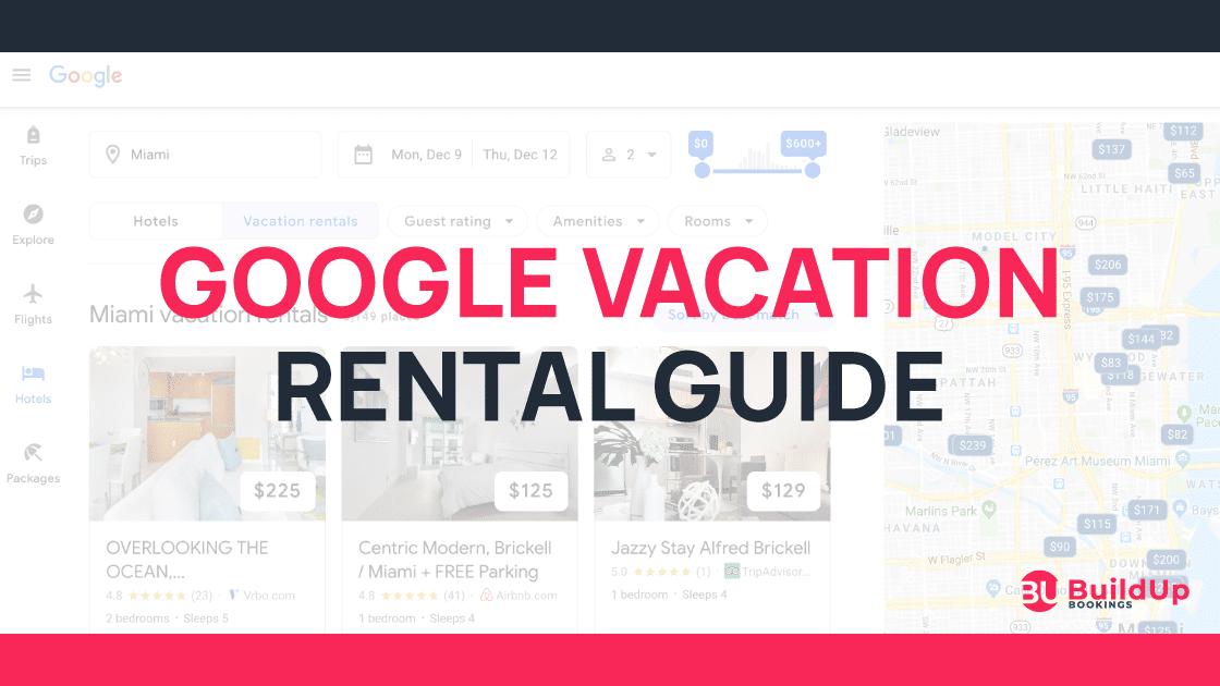 google vacation rentals 1