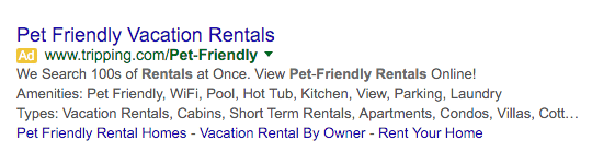normal structured snippets