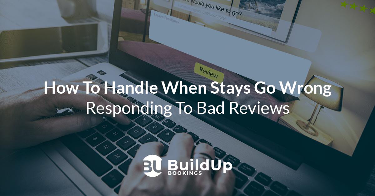 respond bad guest reviews