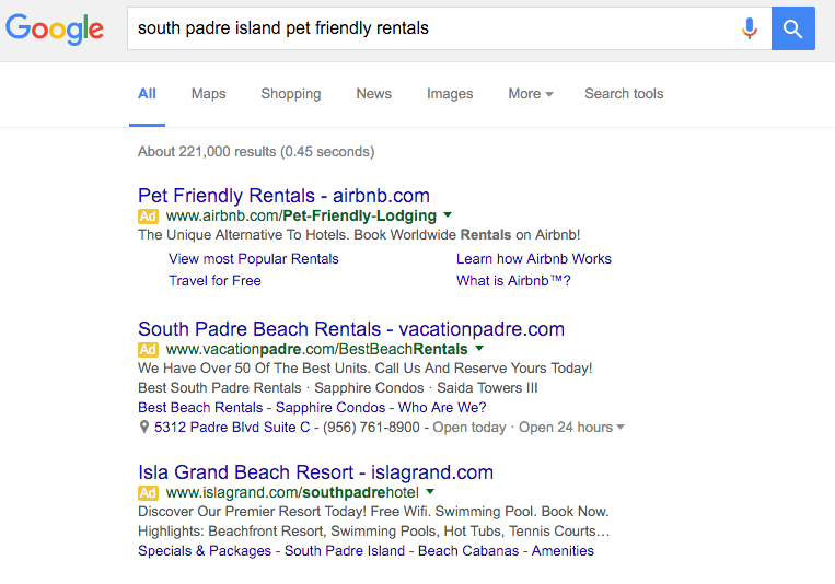 serp test new snippets